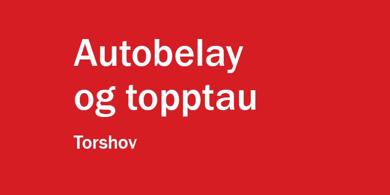 Bilde for Topptau på Torshov