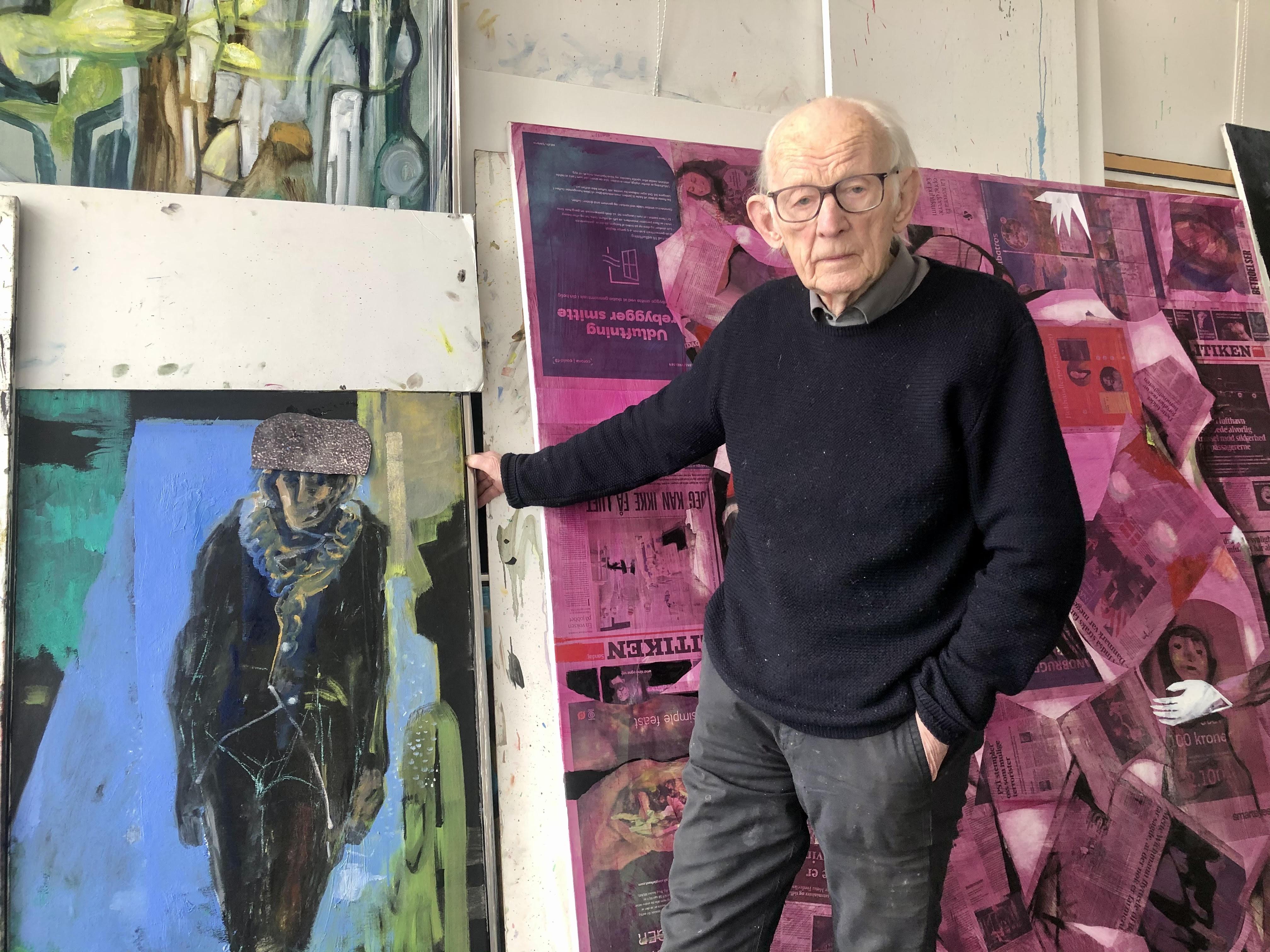 Bilde for Kunstsamtale med Håkon Bleken